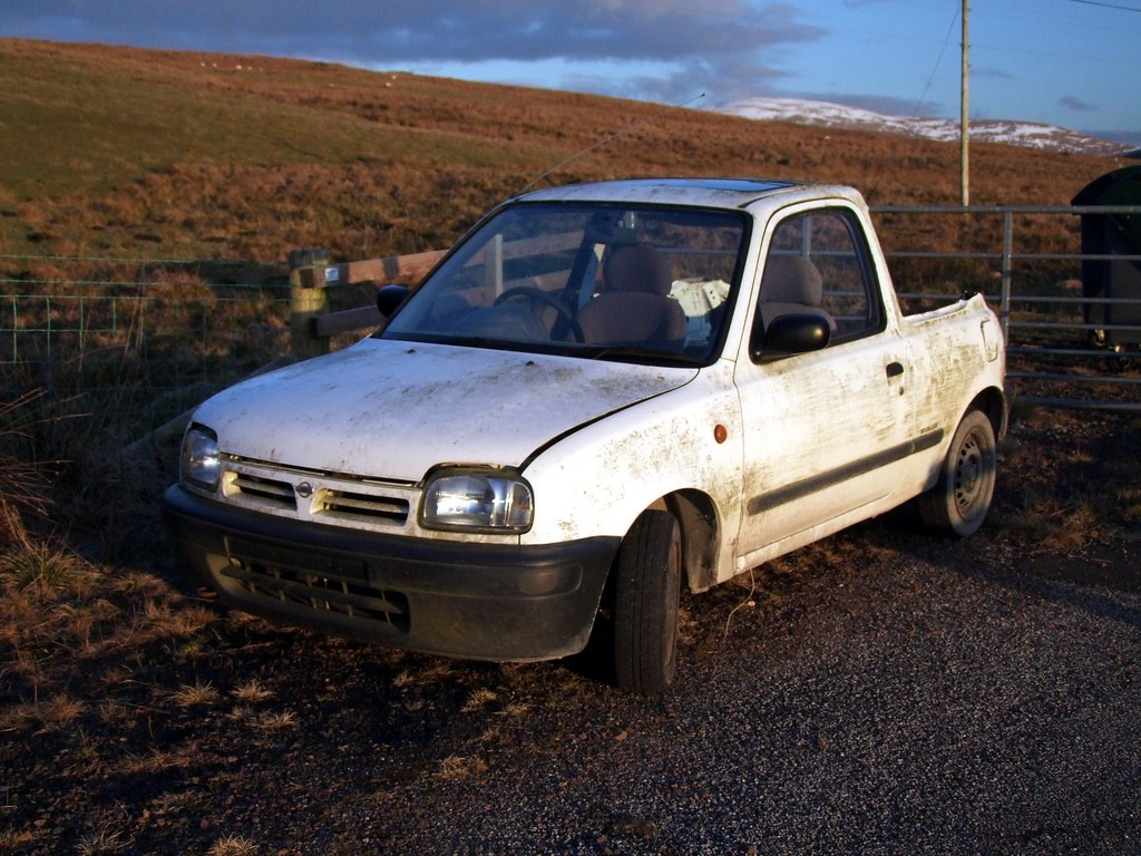Nissan Micra Pick Up Fresh From The R D Department Is
