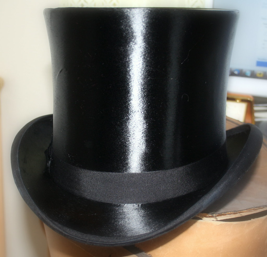 Polished Top Hat My Top Hat Now That It S Been Water Polis Flickr