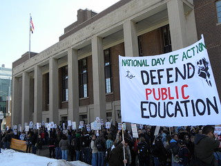 National Day of Action in Defense of Public Education | by Fibonacci Blue