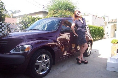 Mary Cummins and PT Cruiser | by Mary Cummins