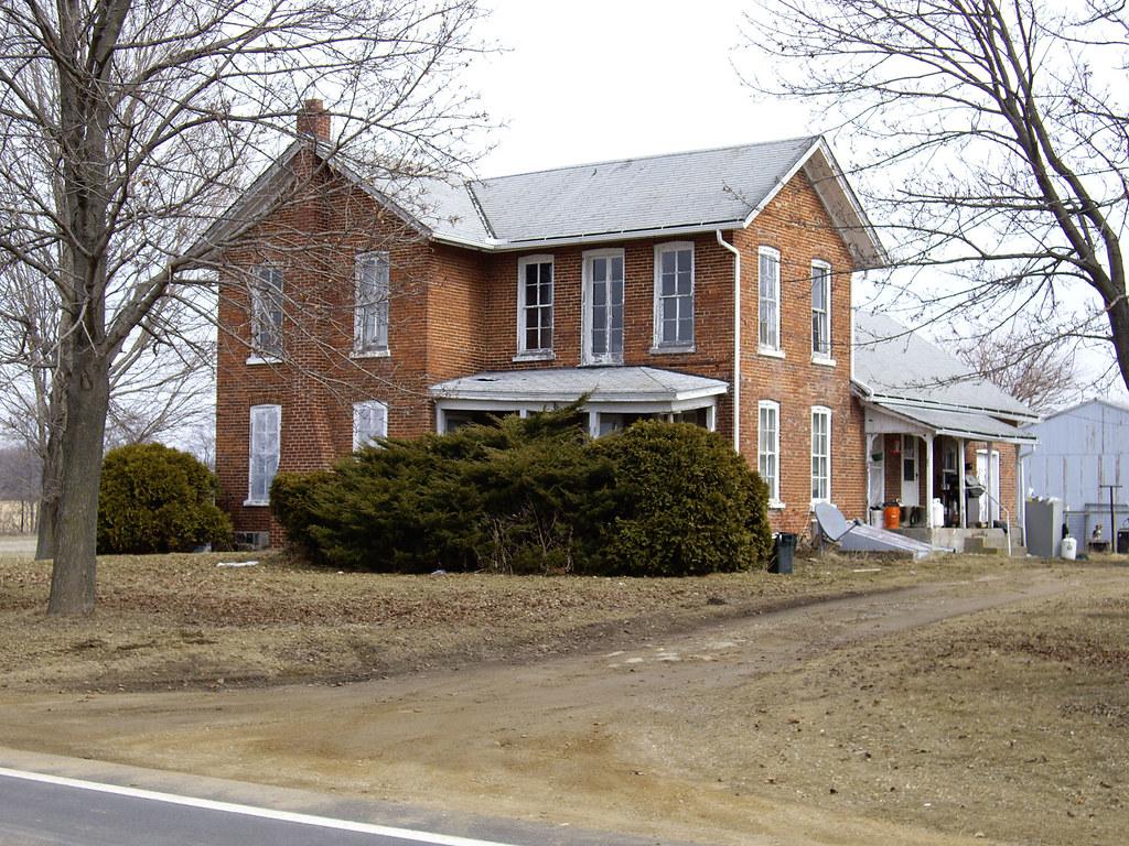08 litchfield brick house brick farmhouse on anderson for Farmhouse brick