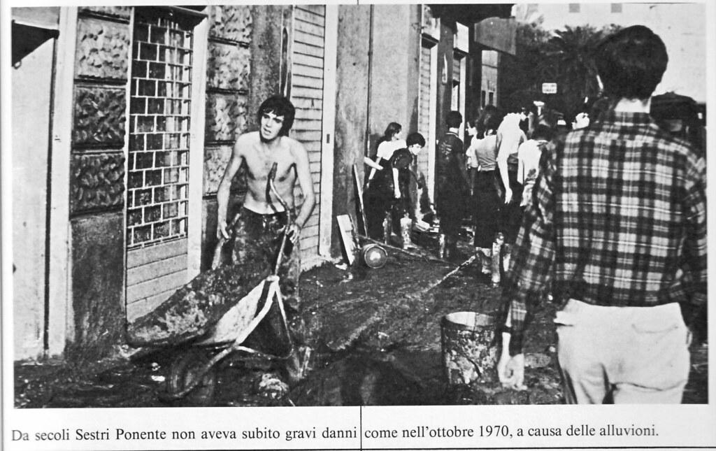 L Alluvione Di Sestri Nel 1970 3 Da Secoli Sestri