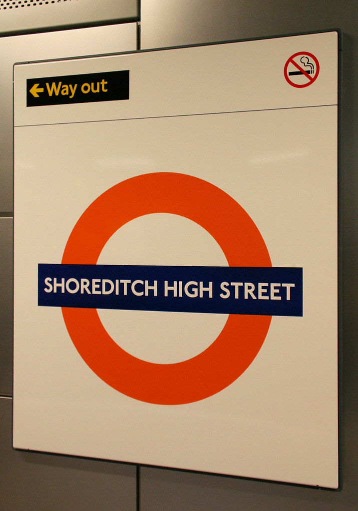 Shoreditch Station: Shoreditch High Street Overground Station