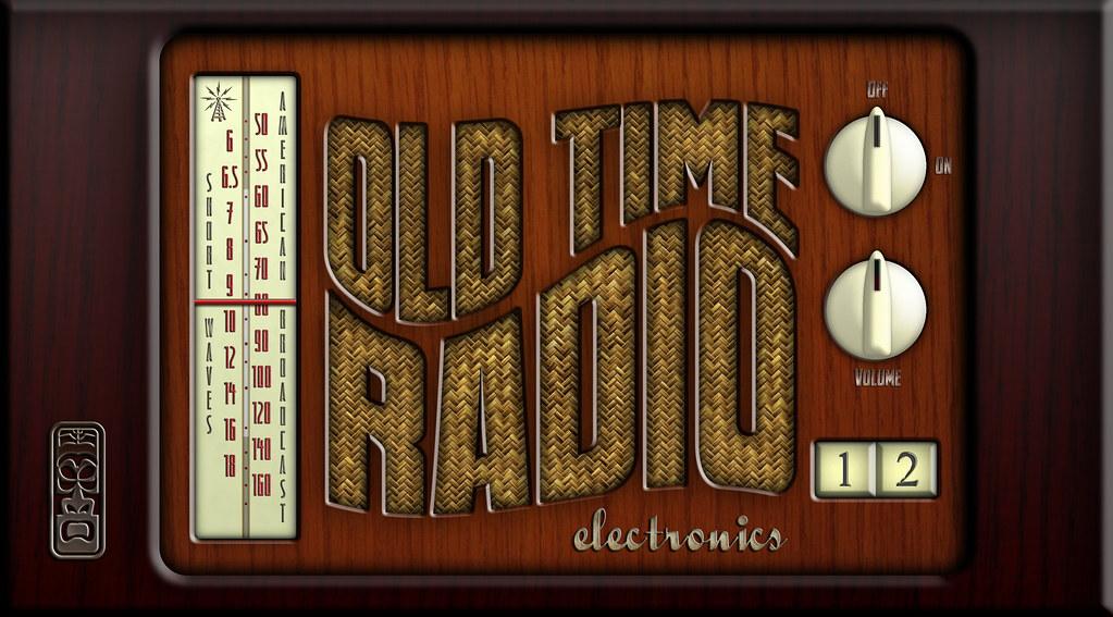 Old Fashioned Radio Liquid