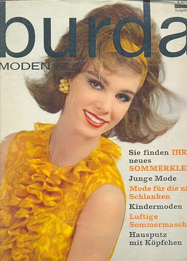 Burda Moden April 1963 German Fashion Magazine Burda Moden Flickr