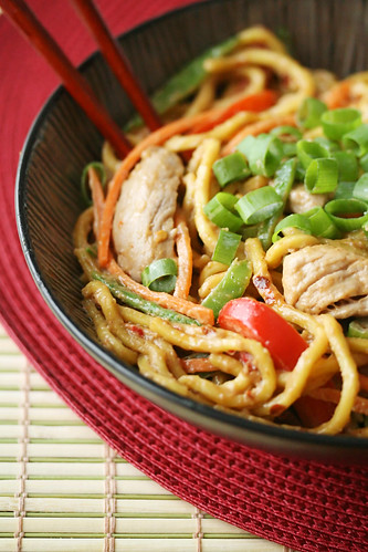 Spicy Peanut Noodles with Pork | by Isabelle @ Crumb