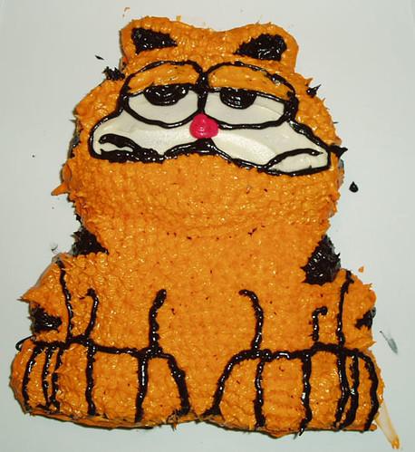 Garfield D Cake Pan Instructions