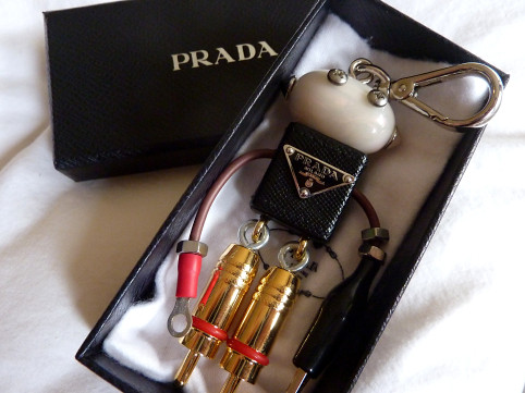 Prada Edward Robot Key Charm | Flickr - Photo Sharing!