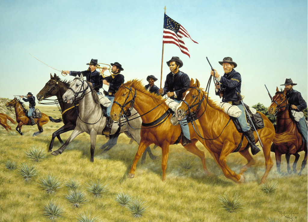 an introduction to the history of the calvary during the civil war in the united states United states history  although the us senate failed to ratify the resulting  treaty, harney's blow produced what amounted to a  the civil war on the plains.