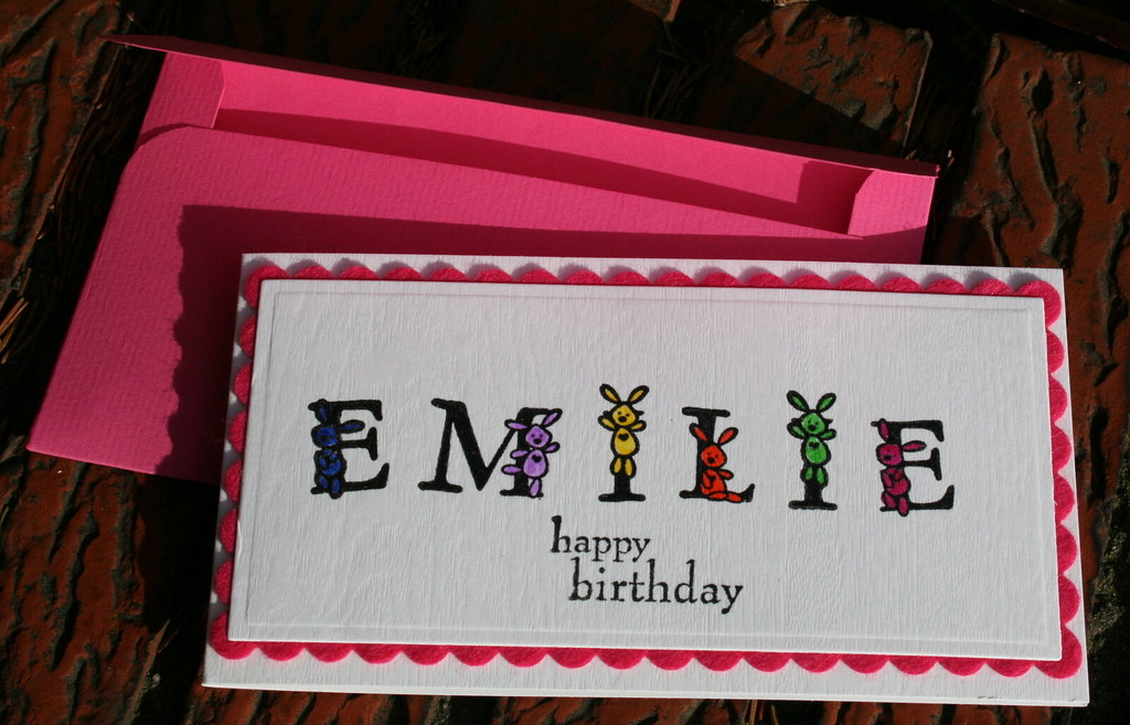 Happy Birthday Emilie Elke Verschooten Flickr