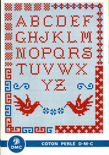 Vintage cross stitch samplers with you