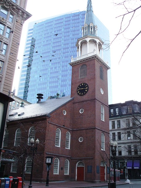 Boston Ma Old South Meeting House Boston Ma The Old