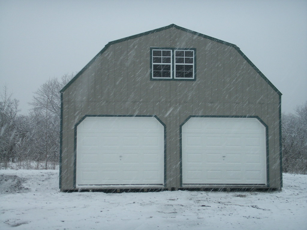 Two story garages 2 story 2 car garage alan 39 s factory for Two story two car garage