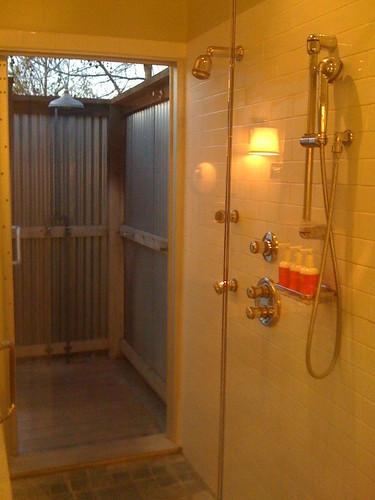 Indoor outdoor shower andrew yang flickr for Indoor outdoor shower