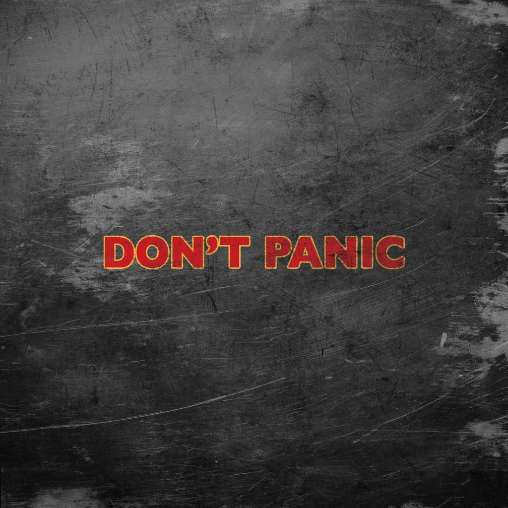 DONT PANIC IPad Wallpaper