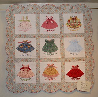 Smocked Little Dresses Quilt | by pipersquilts