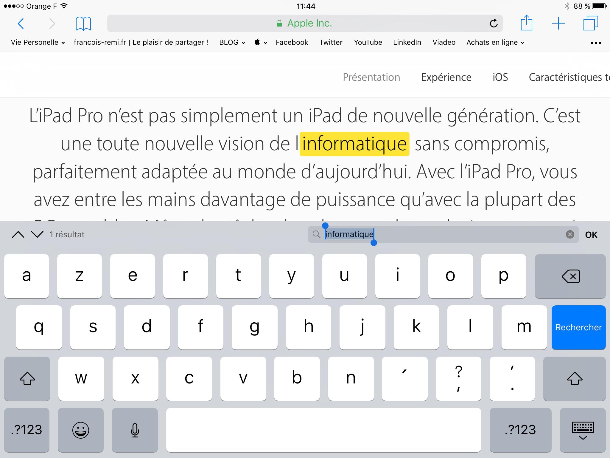 20170216 Comment rechercher un mot dans une page Internet sur iPad et iPhone 00005
