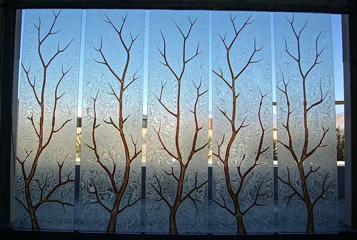 Painting Glass Etching