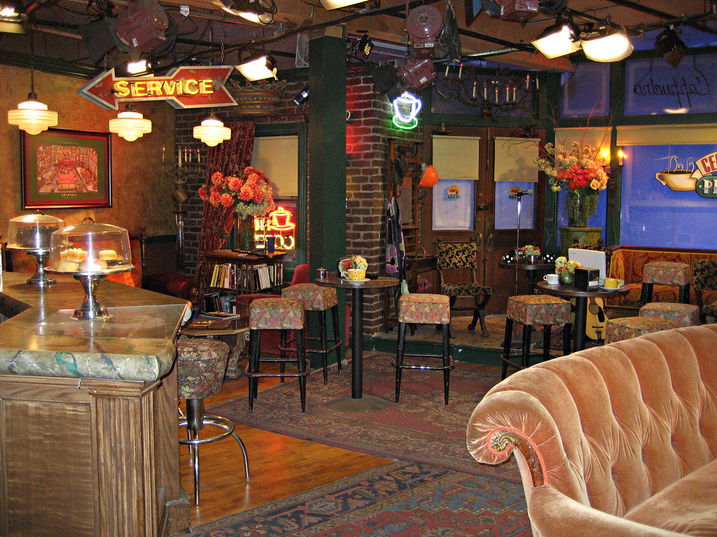 Central Perk Cafe From Friends Complete Recreation Of