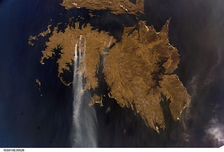 East Falkland Island Fires (NASA, International Space Station Science, 09/25/07) | by NASA's Marshall Space Flight Center
