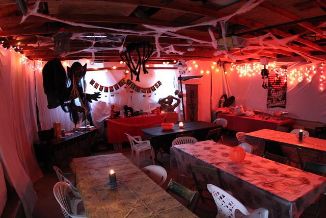 Garage Halloween Party