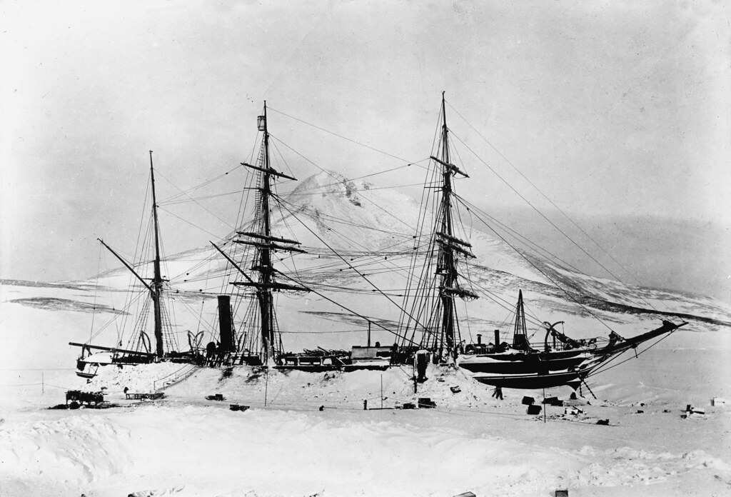 The Ship Discovery Antarctica 1901 The Ship Discovery