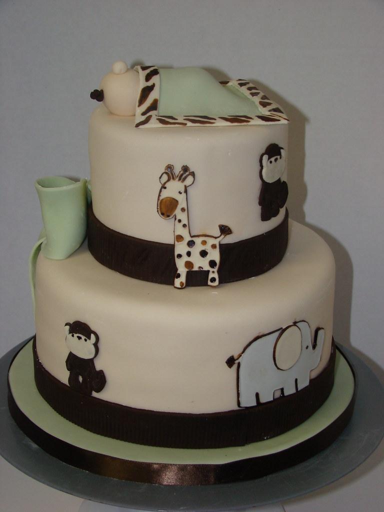 ... Sweetcakesbyrebecca Safari Baby Shower Cake | By Sweetcakesbyrebecca