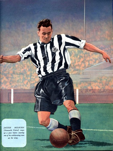 Jackie Milburn Newcastle United & England | by TuebrookDave