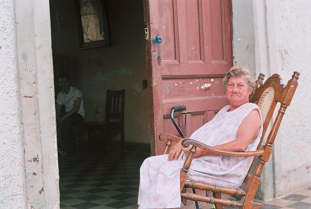 Old Lady In Rocking Chair Mb Flickr