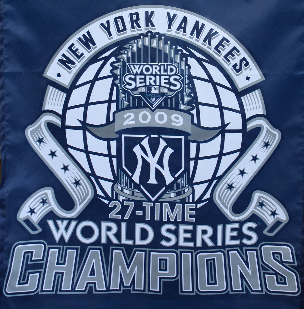 new york yankees 27th time world series champions flickr