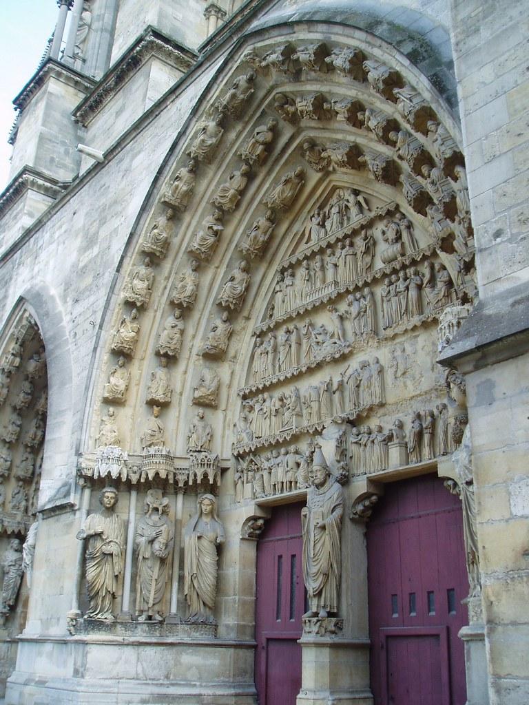 north transept portal  reims