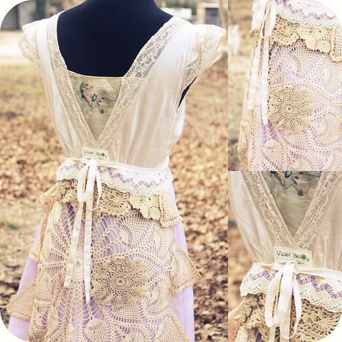 lavender dress {the back} | by lauraisakitten