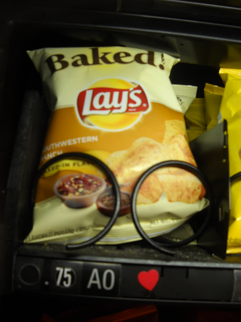 lays vending machine