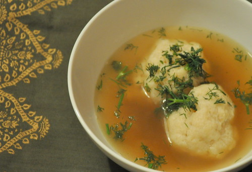 Matzo Ball Soup + Homemade Chicken Stock | by Turntable Kitchen