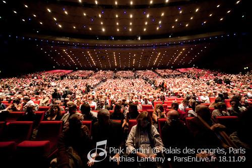 Pink martini palais des congr s paris flickr - Adresse palais des congres paris porte maillot ...