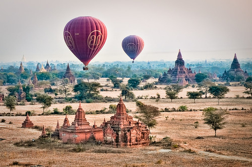 Balloons over Bagan | by samthe8th