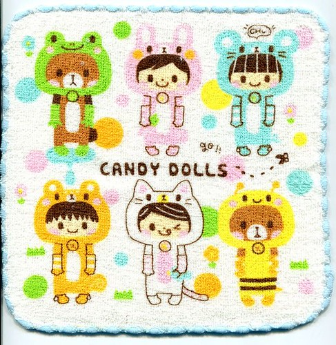 Q-Lia Candy Dolls Face Towel Wash Cloth #1 | by BigKeyLeeStore