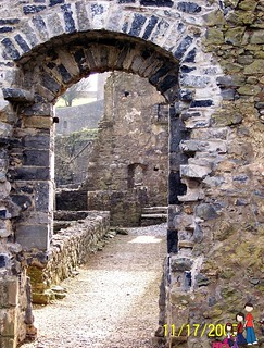 Doorway, Kells Priory, County Kilenny, Ireland | by iatraveler
