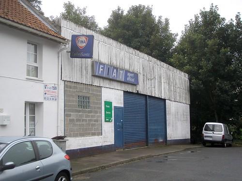 Abbeville ancien garage fiat rue pasteur pr s de for Garage ad abbeville