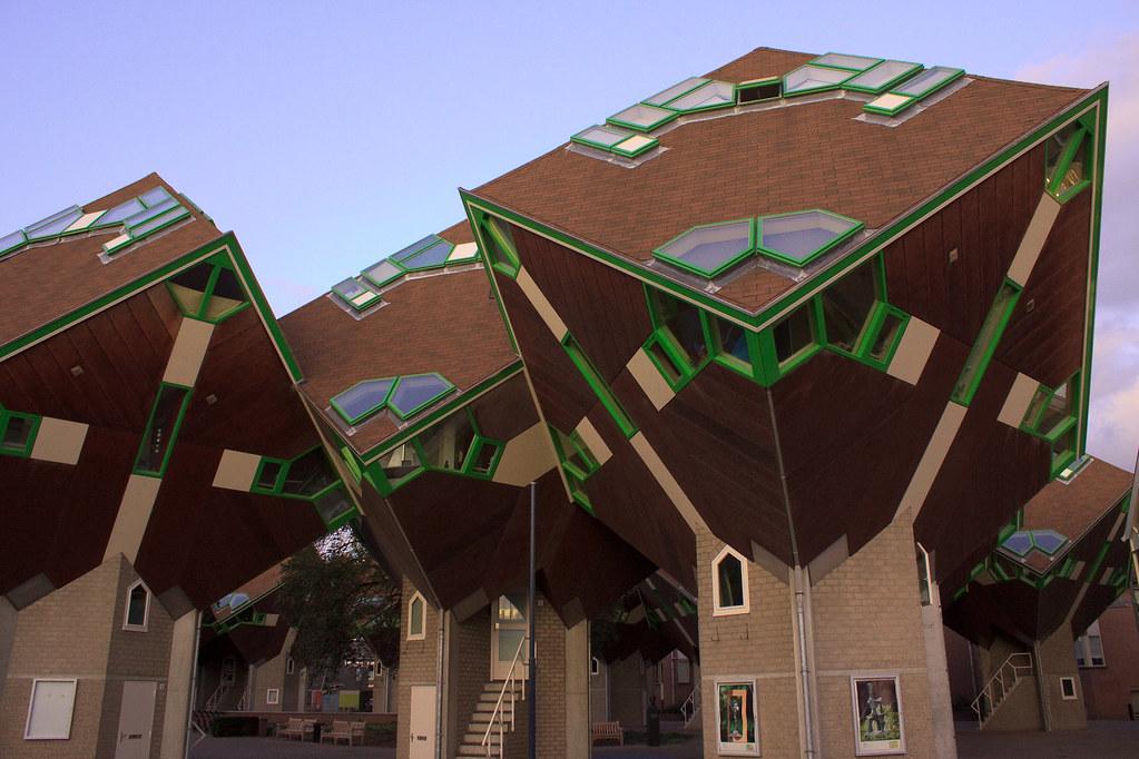 Baumhaus Architekturbüro baumhaus in helmond architekt piet blom liza flickr