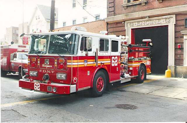 Fdny Ladder 62 Fdny Engine 62 Seagrave