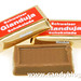 Chocolate Swiss Gianduja Chocolate Squares