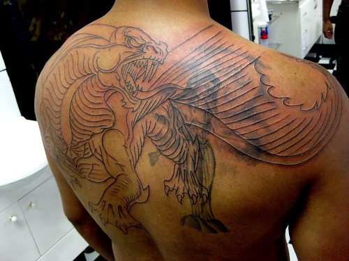 Tatuagem Drag 227 O Medieval Costas Tattoo Www Micaeltattoo