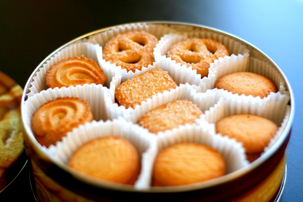 danish butter cookies (extra rich) | My favorite Christmasy ...