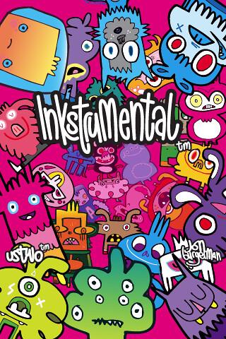 ... Jon Burgerman inkstrumental™ iPhone Wallpaper 1 | by ustwostudios