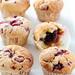 raspberry & dark chocolate muffins