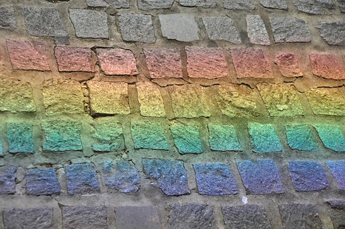 Concrete Rainbow Refracted From Mirror | by neeravbhatt