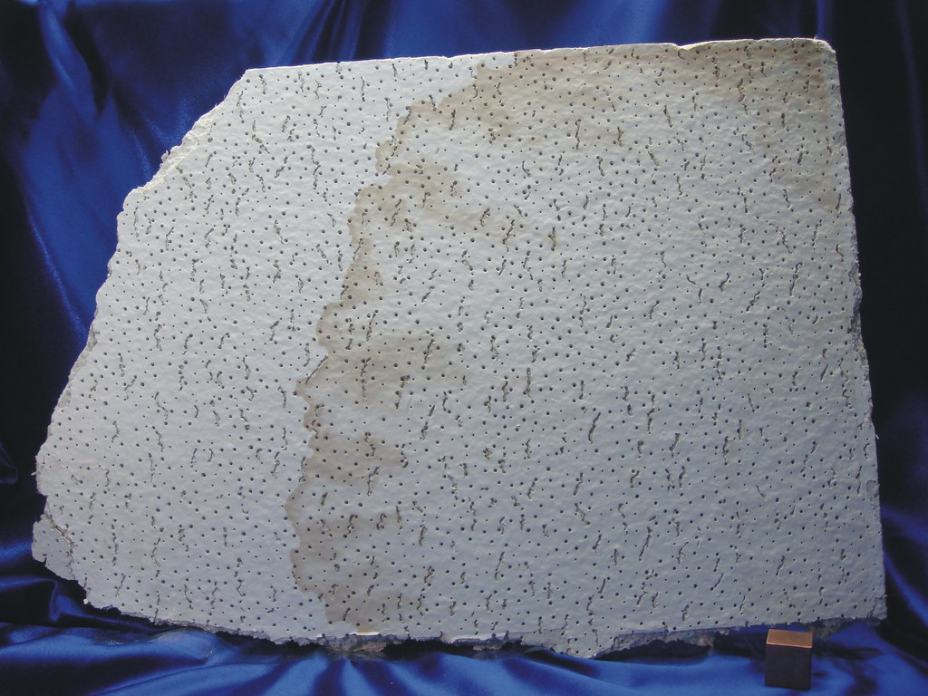 Asbestos Ceiling Tile Panel Many Requests Have Been Receiv Flickr