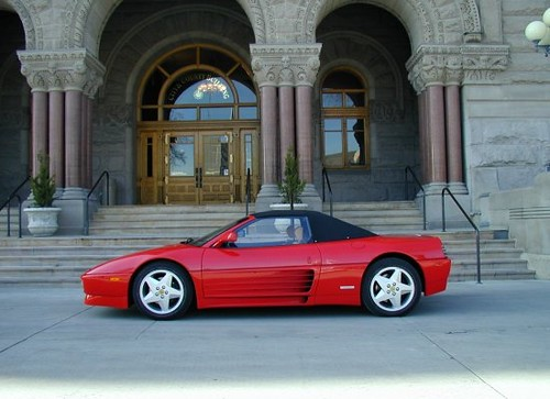 1994 Ferrari 348 Spider | 1994 Ferrari 348 Spider red with b ...