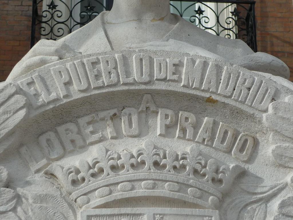 Madrid plaza de chamber monumento a loreto prado flickr for Calle loreto prado y enrique chicote